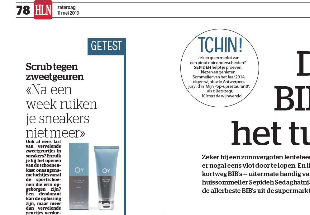 oy in HLN